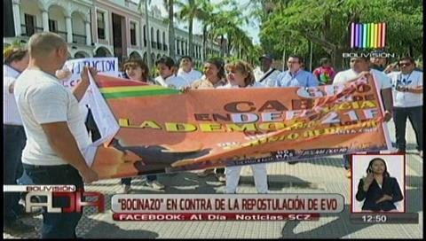 """Con """"bocinazos"""" convocan a la movilización por el respeto al No del 21 de febrero"""