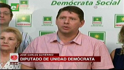 Diputado Gutiérrez solicitará un informe sobre el bombardeo de nubes en La Paz