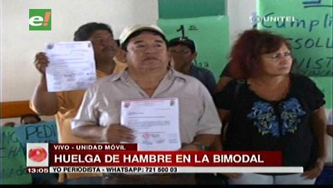 Santa Cruz: Trabajadores de la Terminal Bimodal instalan huelga