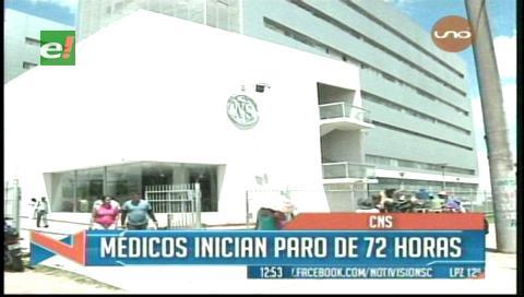 El paro de la CNS afecta a 3.000 asegurados