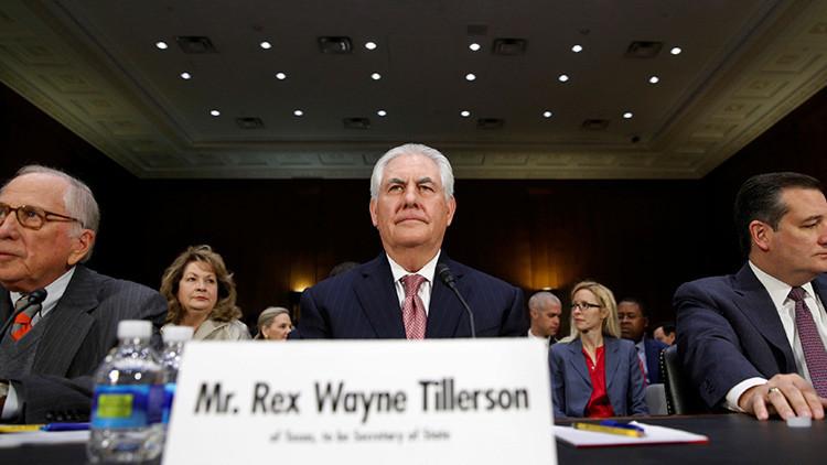 Rex Tillerson, nuevo secretario de Estado de EE.UU.