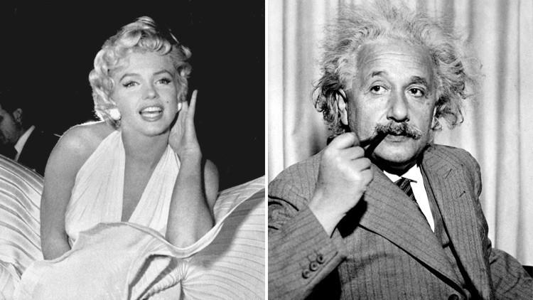 Marilyn o Einstein ¿quién era más inteligente?