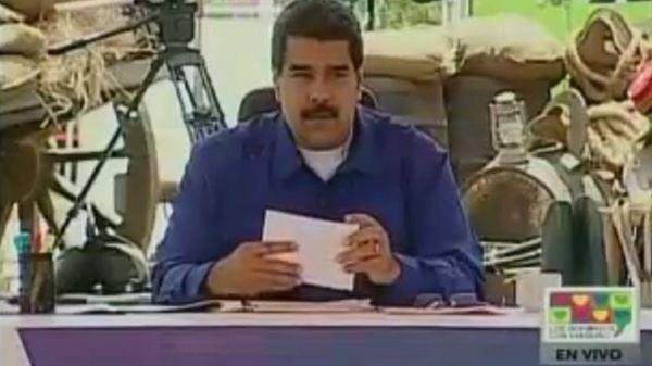 Nicolás Maduro, en su programa dominical