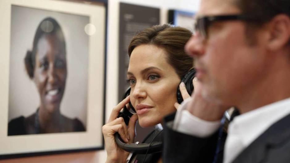 Angelina Jolie y Brad Pitt en una imagen de archivo (Gtres)