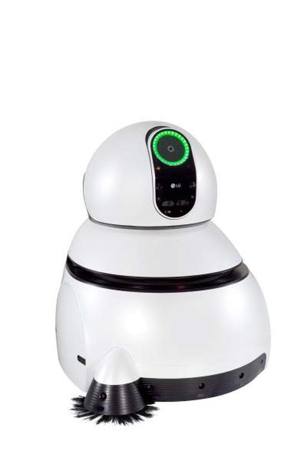 Robot de limpieza para los aeropuertos (LG)