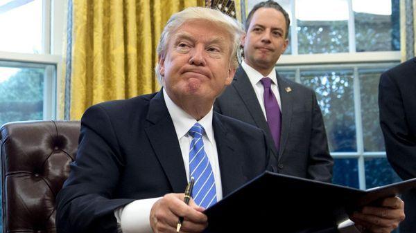 Revés de Trump en la Justicia por su decreto migratorio (AFP)