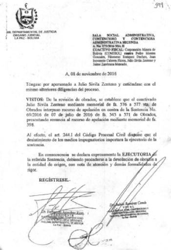 """Senador Montes tiene sentencia """"ejecutoria"""" por daño al Estado"""