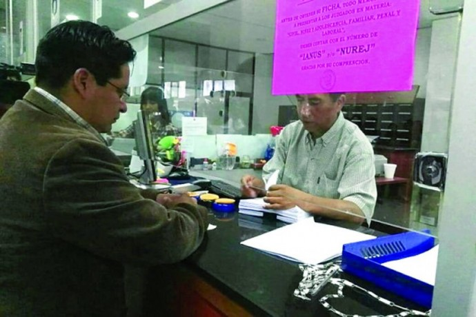 TDJ. La Gobernación presentó un amparo constitucional en el caso del megacampo Incahuasi.