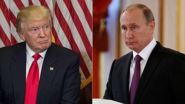 Donald Trump y Vladimir Putin (AFP)