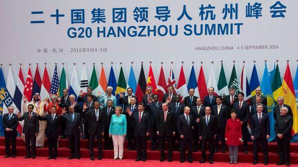 El encuentro del G-20 del año pasado en China; para el Kremlin los presidentes de Rusia y Estados Unidos se reunirán durante la edición de este año (Presidencia)