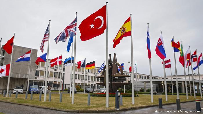 Brüssel Nato-Hauptquartier (picture-alliance/dpa/J. Warnand)
