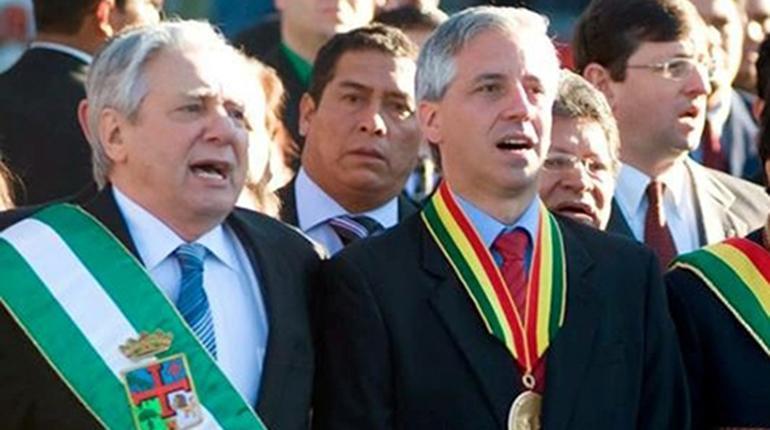 Resultado de imagen para García Linera Percy Fernández