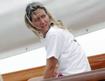 Allegra Gucci, hija de Maurizio Gucci y Patrizia Reggiani, en 2007.