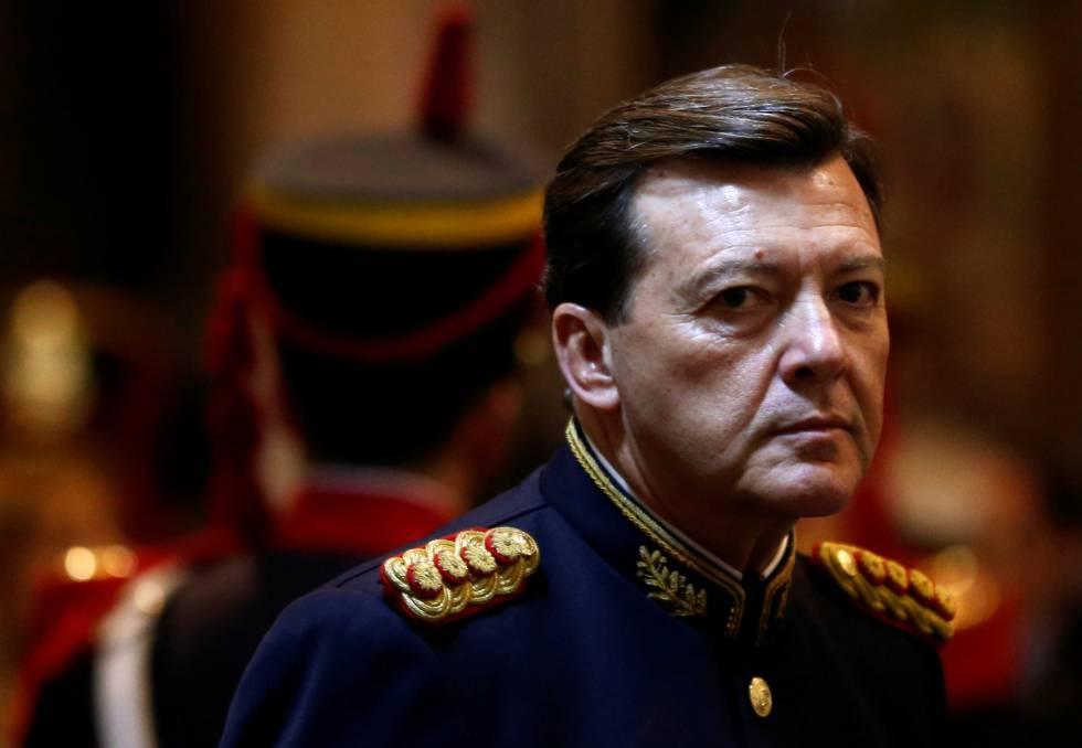 El exjefe del Ejército, César Milani, en una foto de 2014