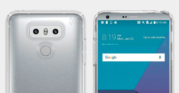 LG G6 en color plata