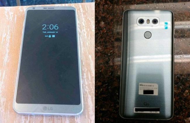 imágenes reales del LG G6
