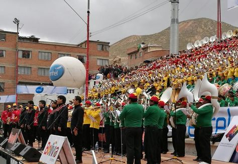 El XVI Festival de Bandas de Música se desarrolla en la capital del Pagador. Foto: Juan Mejía