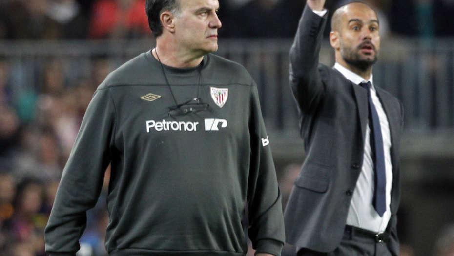 """Resultado de imagen para Guardiola: """"Bielsa es el mejor entrenador del mundo"""""""