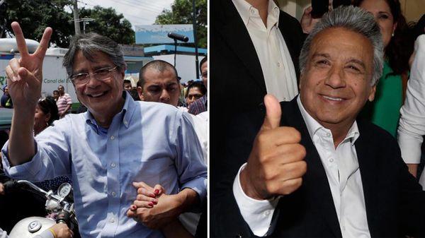 Lasso y Moreno irán por la presidencia el 2 de abril
