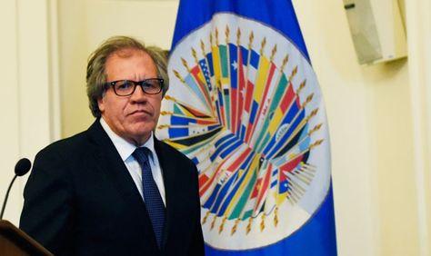 El secretario general de la Organización de Estados Americanos (OEA), Luis Almagro. Foto: Minuto30.com