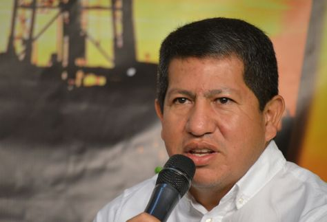 El ministro de Hidrocarburos, Luis Alberto Sánchez. Foto: Ministerio de Hidrocarburos