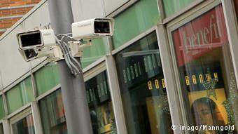 Symbolbild Videoüberwachung (imago/Manngold)