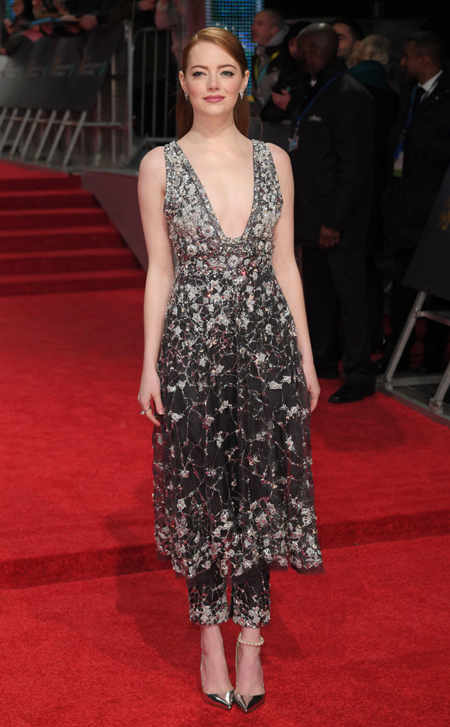 Emma Stone, 2017 BAFTA Awards