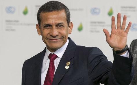 El expresidente peruano Ollanta Humala. Foto: Archivo EFE