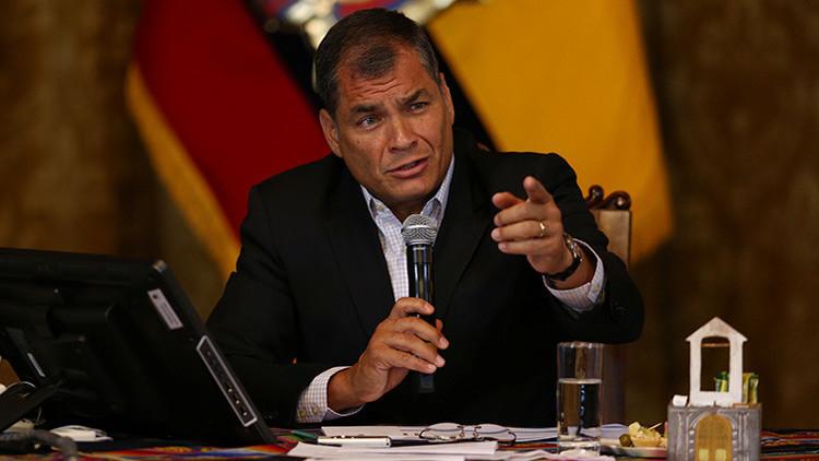 Rafael Correa a la oposición: