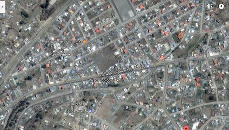 Una vista de la zona calle 60 de Ovejuyo que será la frontera entre La Paz y Palca.