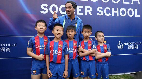 El Barcelona abrirá una escuela de fútbol en China