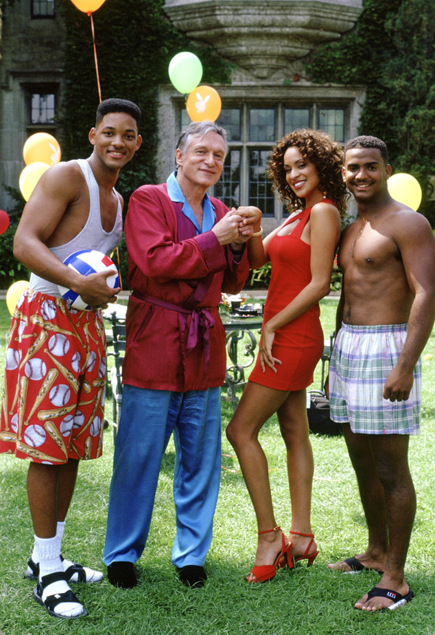 Will Smith, Hugh Hefner, Karyn Parsons, Alfonso Ribeiro