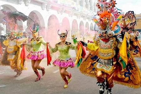 Resultado de imagen para Morales dice que el Carnaval de Oruro es una gran muestra de la riqueza cultural de Bolivia