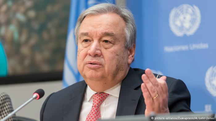 Guterres UN PK zu Hungersnöte in Afrika (picture-alliance/Zumapress/A. Lohr-Jones)