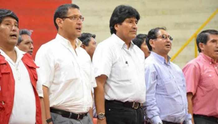 Paz, Montes y el MAS
