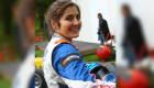 Tatiana Calderón, la corredora colombiana que se ha ganado un lugar en el automovilismo mundial. (Crédito: Archivo Particular)