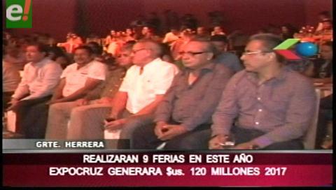 Fexpocruz presentó las 9 ferias del 2017