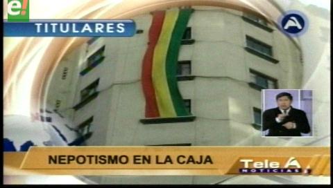 Video titulares de noticias de TV – Bolivia, noche del jueves 16 de febrero de 2017