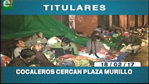 Video titulares de noticias de TV – Bolivia, mediodía del sábado 18 de febrero de 2017