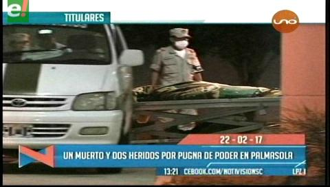 Video titulares de noticias de TV – Bolivia, mediodía del miércoles 22 de febrero de 2017