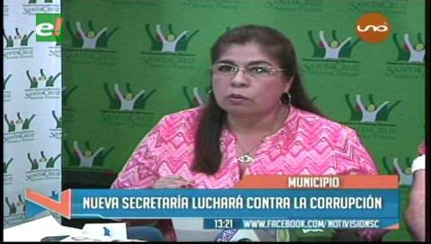 Arispe anuncia mano dura contra corrupción en la Alcaldía cruceña