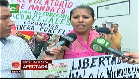 """Dueña de """"El Antojito"""" anuncia huelga de hambre por el cierre de su local"""