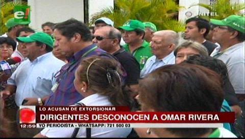 Santa Cruz: Sectores vecinales desconocen a Omar Ribera como presidente de la Fejuve
