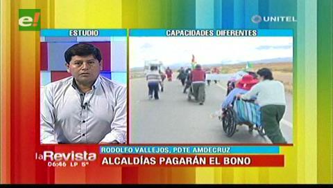 Amdecruz quiere conocer como serán recompensados por el pago del bono a discapacitados