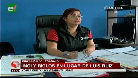 Santa Cruz: Designan a Ingly Riglos como directora interina de Trabajo tras renuncia de Ruíz