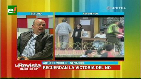 Murillo dice que las últimas declaraciones de Zapata fortaleció al pueblo a marchar por el NO