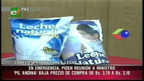 Lecheros y PIL Andina discrepan por precios