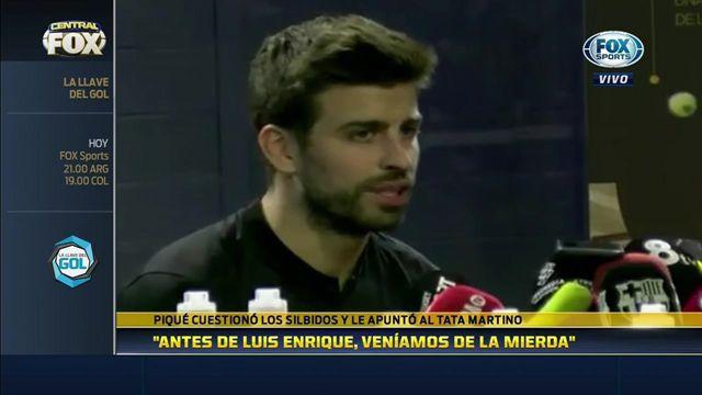 """Piqué: """"Antes de Luis Enrique, veníamos de la m… absoluta"""""""