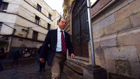 El encargado de Negocios de la embajada de Brasil, Rui Antonio Jucá,