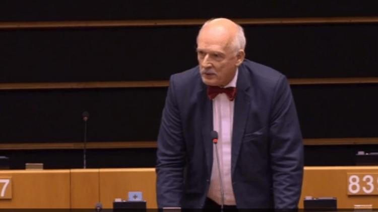 Eurodiputado polaco a eurodiputada española: